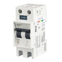 Disjuntor Din Bipolar 250-440V 10A 36x90x53mm 210-6  Siemens