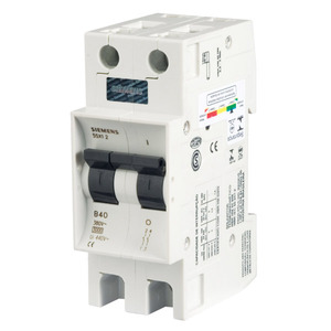 Disjuntor Din Bipolar 250-440V 13A 36x90x53mm 213-6 Siemens