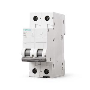 Disjuntor Din Bipolar Curva C 220V (440V) 50A  Siemens