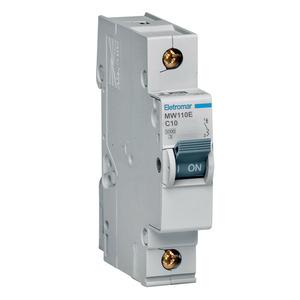 Disjuntor Din Monopolar 220/400V 10A 18x85,10x58,30mm Mw110E Eletromar