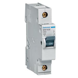 Disjuntor Din Monopolar 220/400V 63A 18x85,10x58,30mm Mw163E Eletromar
