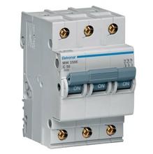 Disjuntor Din Tripolar 220/400V 50A 54x85,10x58,30mm Mw350E Eletromar