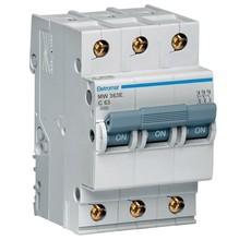 Disjuntor Din Tripolar 220/400V 63A 54x85,10x58,30mm Mw363E Eletromar