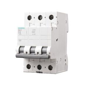 Disjuntor Din Tripolar Curva C 220V (440V) 10A  Siemens