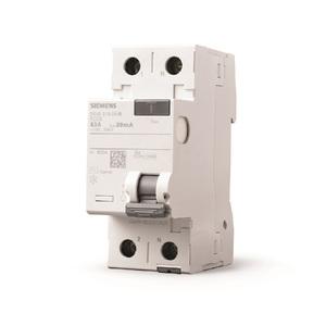 Disjuntor DR Bipolar 127/220V  1P+N 40A/30mA Tipo AC Siemens