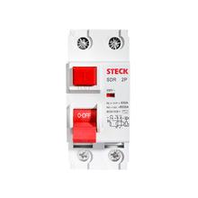Disjuntor DR Bipolar 63A/30MA Steck
