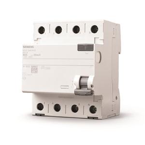 Disjuntor DR Tetrapolar 220V (380V)  3P+N 40A/30mA Tipo AC Siemens