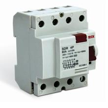 Disjuntor DR Tetrapolar 400V 80A/30MA Steck