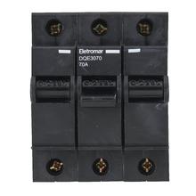 Disjuntor Nema Tripolar 220v a 380v 70A DQE3070 Eletromar