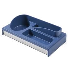 Dispenser de Detergente Sobre Pia Aço Inox e Plástico Azul Suprema Brinox