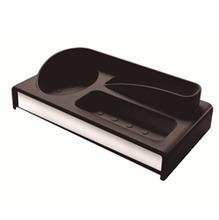 Dispenser de Detergente Sobre Pia Aço Inox e Plástico Preto Suprema Brinox