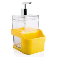 Dispenser de Detergente Sobre Pia  Acrílico Amarelo Discovery Martiplast