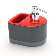 Dispenser para Detergente Plástico Vermelho By Arthi