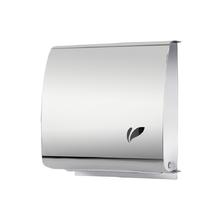 Dispenser para Papel Toalha Folha Metal Biovis