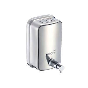 Dispenser para Sabonete Liquido Metal 500ml Inox Biovis