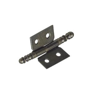 Dobradiça para Móveis Simples 90º Aço Oxidado