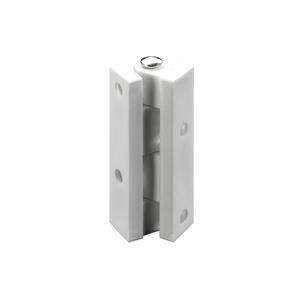 Dobradiça para Móvel 45x10mm Branco Plástico