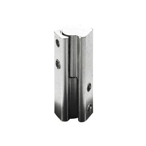 Dobradiça para Móvel Simples 40x10mm Aço