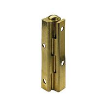 Dobradiça para Móvel Simples 50x10mm Latão