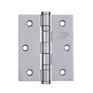 "Dobradiça para Porta 3X2,5"" Inox Polido 3 peças Imab"