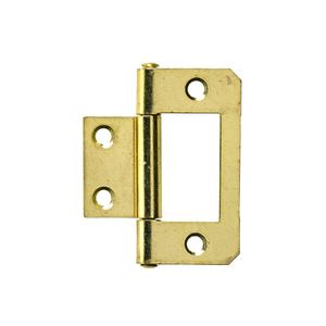 Dobradiça para Porta Simples 38x20mm Dourado 2 peças