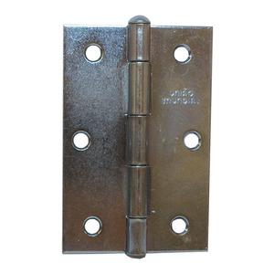 """Dobradiça para Porta Simples 3x2.1/2"""" Aço Cromado União Mundial"""