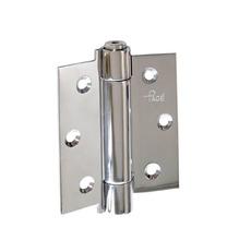 """Dobradiça para Porta Simples 3x3"""" Aço Inox Escovado Ferragens Pagé"""