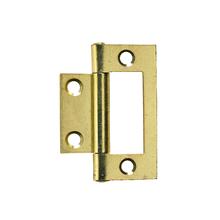 Dobradiça para Porta Simples 50x23mm Dourado 2 peças