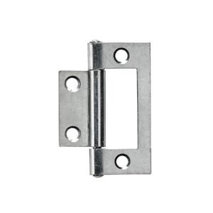 Dobradiça para Porta Simples 50x23mm Prata 2 peças