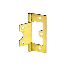 Dobradiça para Porta Simples 63x25mm Dourado 2 peças