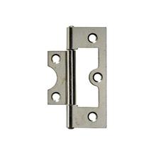 Dobradiça para Porta Simples 63x25mm Prata 2 peças