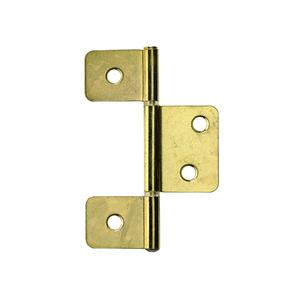 Dobradiça para Porta Simples 88x29mm Dourado 2 peças