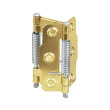 Dobradiça para Porta Vai e Vem 63xmm Dourado 2 peças