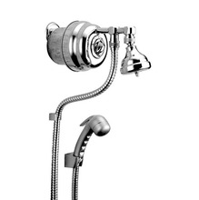 Ducha Luxo Cromado 5 Temperaturas com Desviador 220V 7600W AQ066 Cardal