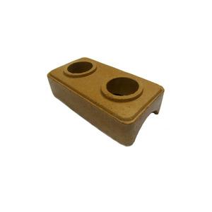 ECOLOGICO SOLO /CIMENTO COMP 25,00 CM LARG 12,50 CM ALT 6,25 CM DIAM FURO 0,60 CM PESO 2,00 KG LAPIN