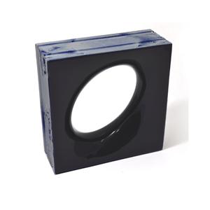 Elemento Vazado Cerâmica Esmaltado Azzuro Lunna 20x20x7,5cm Elemento V