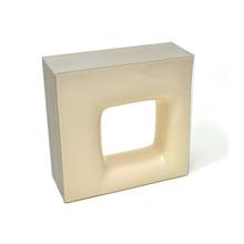 Elemento Vazado Cerâmica Esmaltado Beige Quadratto 20x20x7,5cm Elemento V