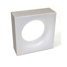 Elemento Vazado Cerâmica Esmaltado Bianco Sphera 20x20x7,5cm Elemento V