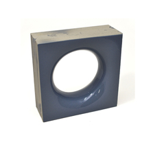 Elemento Vazado Cerâmica Esmaltado Grigio Sphera 20x20x7,5cm Elemento V