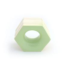 Elemento Vazado Cerâmica Esmaltado Muschio Favo 13x16x7cm Elemento V