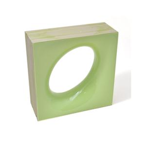 Elemento Vazado Cerâmica Esmaltado Muschio Lunna 20x20x7,5cm Elemento V