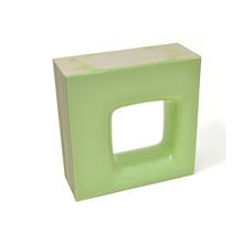 Elemento Vazado Cerâmica Esmaltado Muschio Quadratto 20x20x7,5cm Elemento V