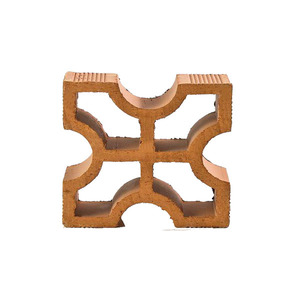 Elemento Vazado Reto Cruz Cerâmica Marajó