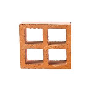 Elemento Vazado Reto Cubo em 4 Cerâmica Marajó