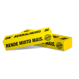 Eletrodo 60.13 2,5mm 5Kg OK Serralheiro Esab