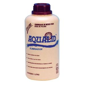 Eliminador Metais Líquido Embalagem 1L Aqualid
