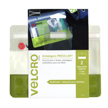 Embalagem PRESS-LOK® Mini 17,9x14,5cm Verde Marca VELCRO®