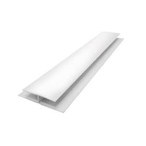 Emenda H Branco 6m Real PVC