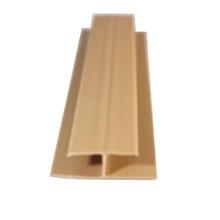 Emenda H Rígido de PVC Cerejeira 4m Real PVC