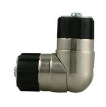 Emenda Lateral Aço Escovado 28mm Vedor